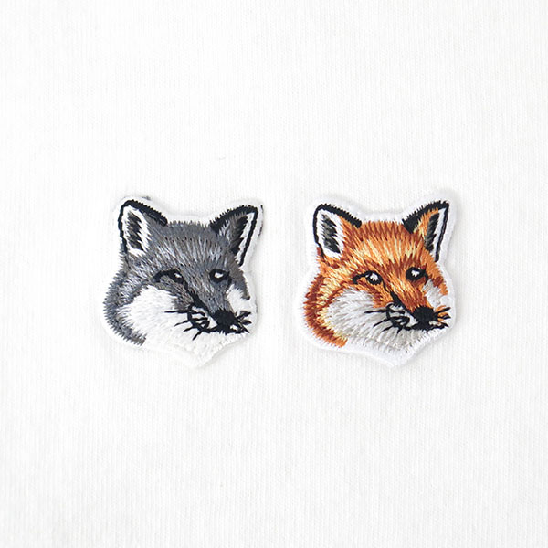 TEE-SHIRT DOUBLE FOX/WHITE