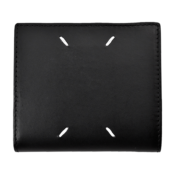 LEATHER WALLET/BLACK
