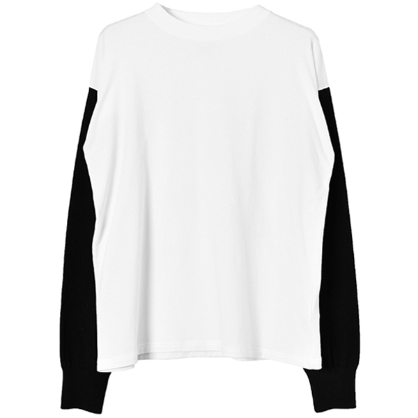 ドッキングTOPS/BLACK×WHITE