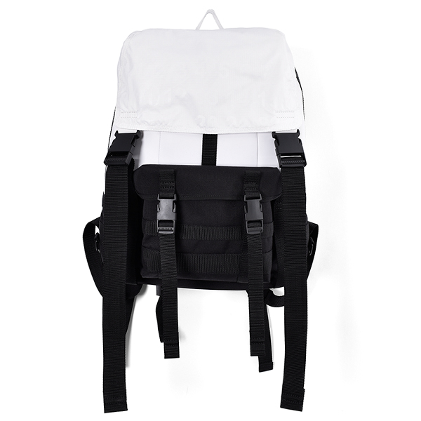 BACK PACK/BLACK×WHITE