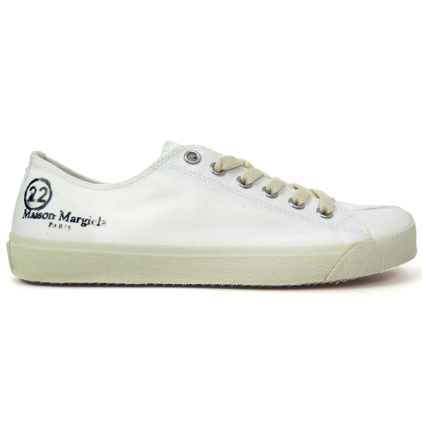 TABI LOW-TOP SNEAKERS/WHITE