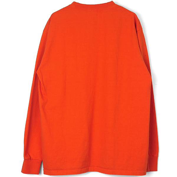 SD Heavyweight Pocket Long Sleeve T/ORANGE