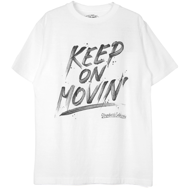 SD Keep On Movin' T/WHITE
