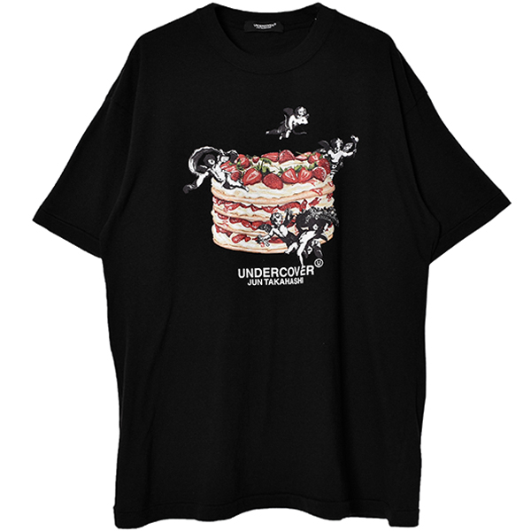 MTEE ANGELS CAKE TEE/BLACK