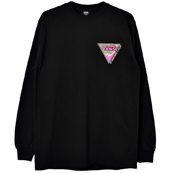 VANS × SD Triangle Logo Long Sleeve T/BLACK