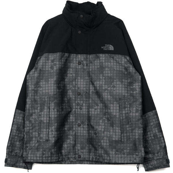 ×THE NORTH FACE FOODED PARKA/BLACK(WC-J921-100)