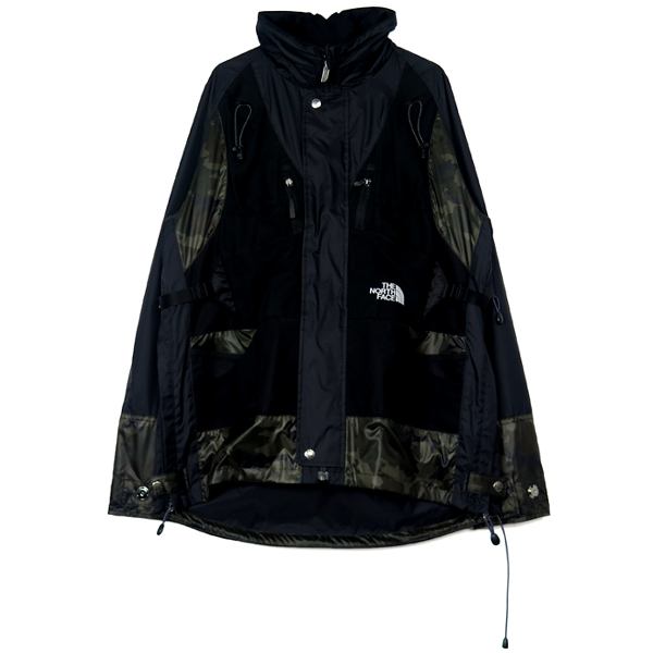 ×THE NORTH FACE TR10 CUSTOMIZE JACKET/BLACK(WC-J922-100)