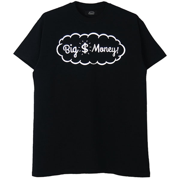 Tee -Big Money-/black×silver
