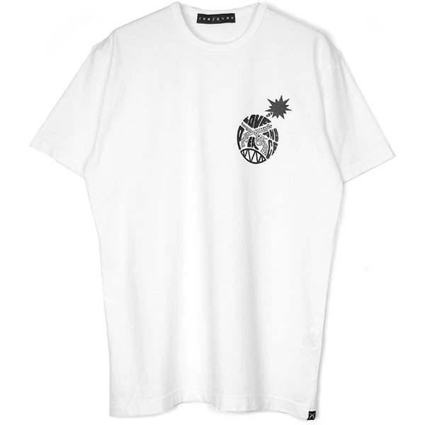 LOVE AND PEACE TEE/WHITE(19WGT-001)