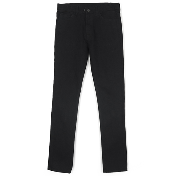 STRETCH DENIM PANTS/BLACK