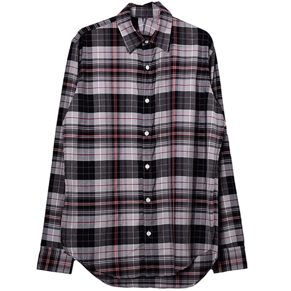 CHECK SHIRT/BLACK CHECK