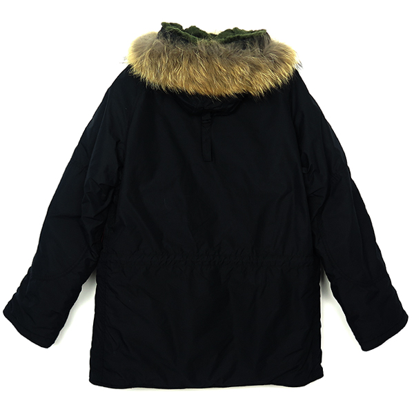 [N.HOOLYWOOD×ALPHA INDUSTRIES] FUR MILITARY JACKT /BLACK
