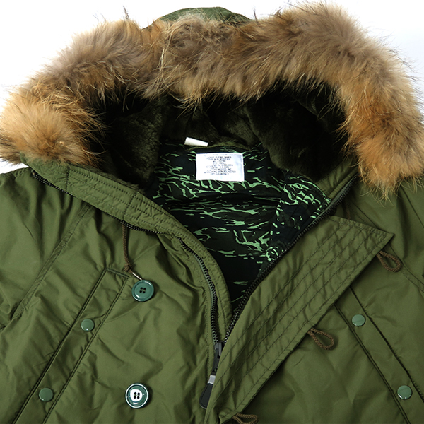[N.HOOLYWOOD×ALPHA INDUSTRIES] FUR MILITARY JACKT /KHAKI
