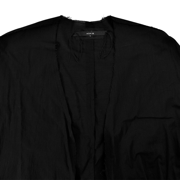 VEIL SHIRTS for unisex / BLACK