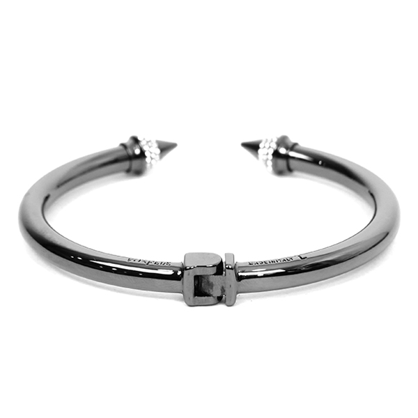 MINI TITAN CRY BRACELET/GUNMETAL CLEAR