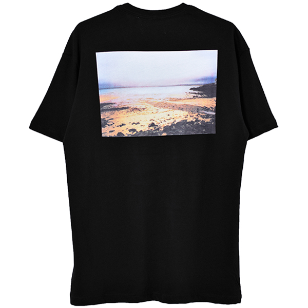 BOXY PHOTO TEE/BLACK