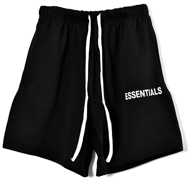 SWEAT SHORTS/BLACK