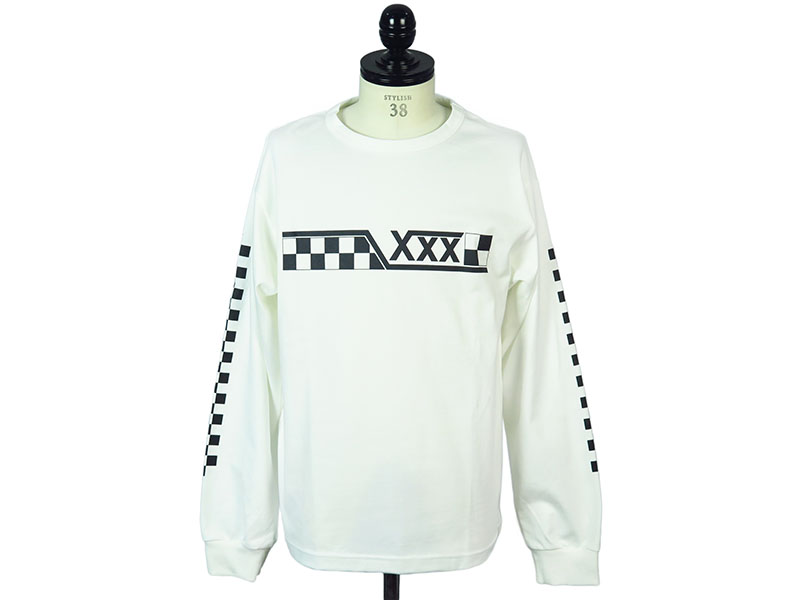 PRINT LONG SLEEVE TEE(GX-A17-1201-039)