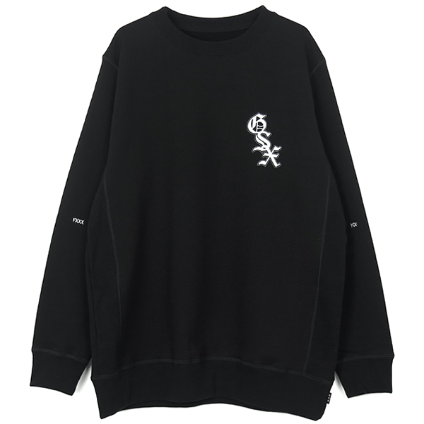 SWEATSHIRTS/BLACK(GX-A19-1402-233)