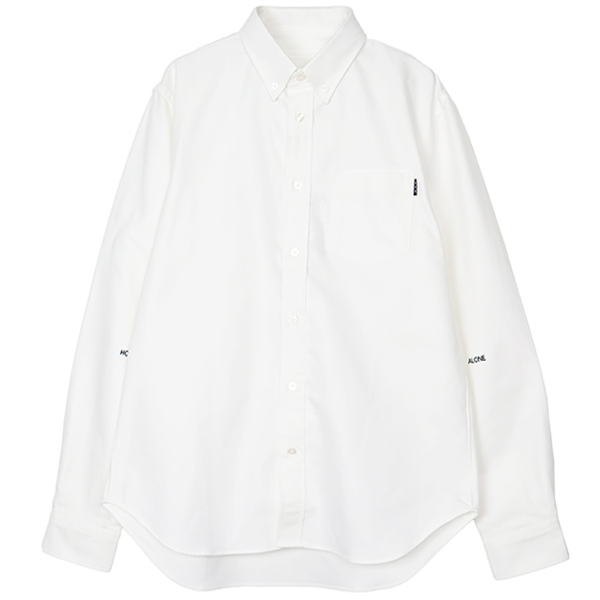 OXFORD SHIRT/WHITE(GX-A19-1801-250)