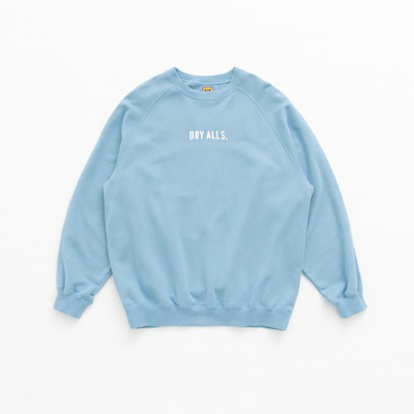RAGLAN SWEATSHIRT/BLUE