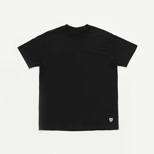3PACK T-SHIRT/BLACK