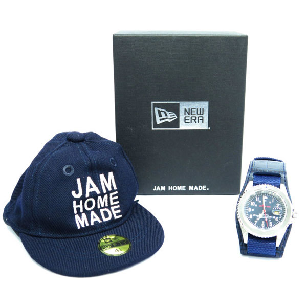 "NEWERA JAM 15th ""STAY GOLD"" WATCH-SILVER×NAVY-"