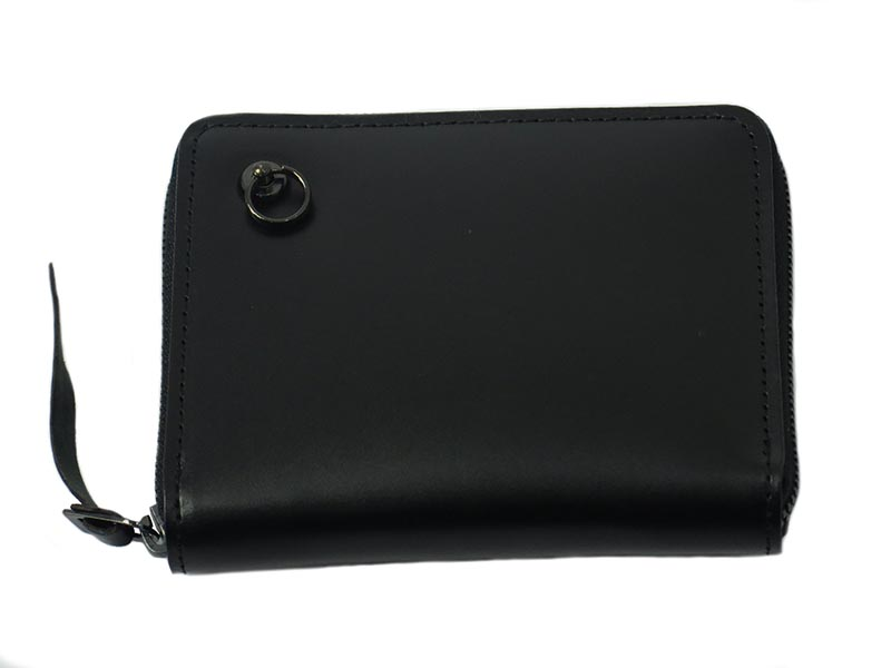 BLACK DIAMOND ZIP MIDIUM WALLET-LaVish-