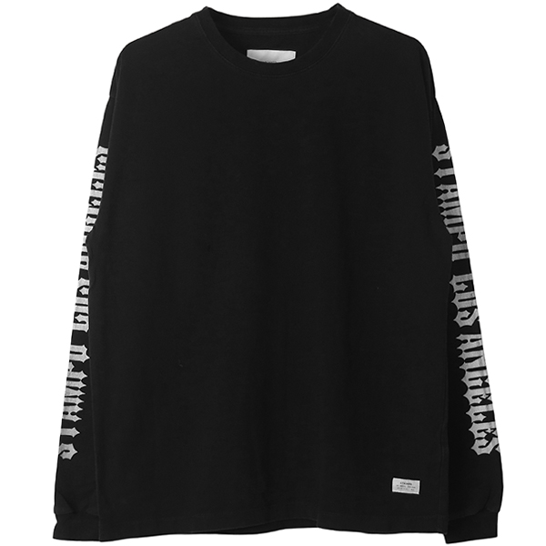 CHOPPER L/S TEE/BLACK