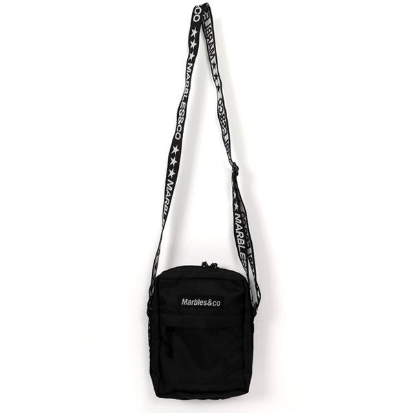 SHOULDER BAG/BLACK(MAC-A1804)