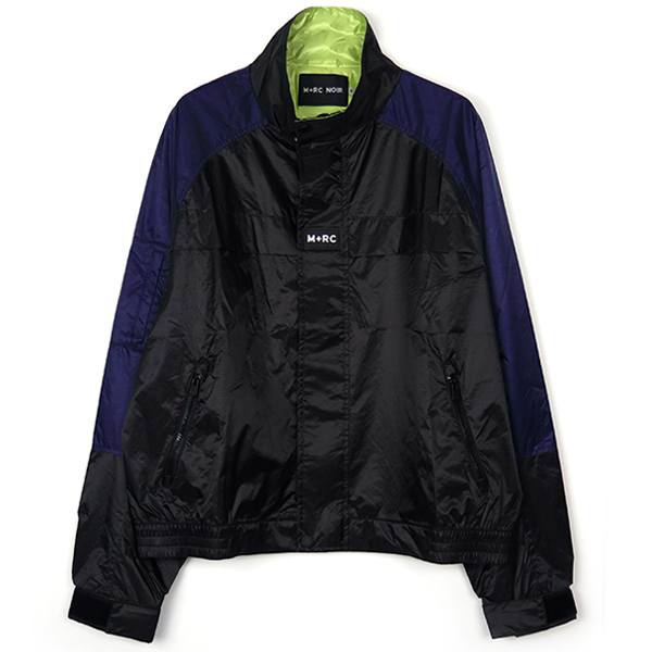 BLOCK JACKET/NAVY