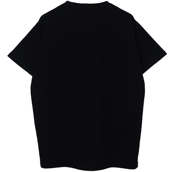 OUTLINE TEE/BLACK