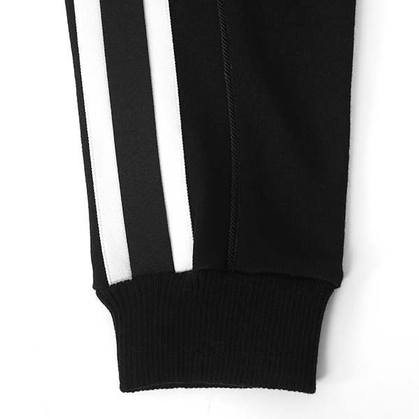 LINE TRACK PANTS/BLACK/WHITE