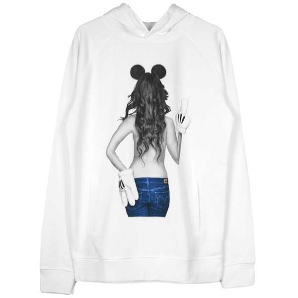 imprime Mickey mouse HOOD/WHITE