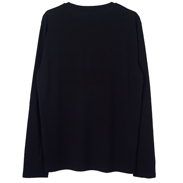crown bee L/S T-SH/BLACK