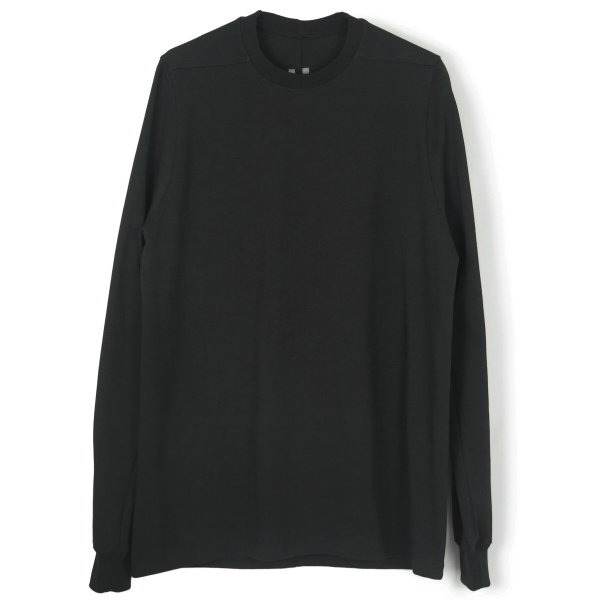 CREWNECK LONG-SLEEVE SWEATSHIRT/BLACK