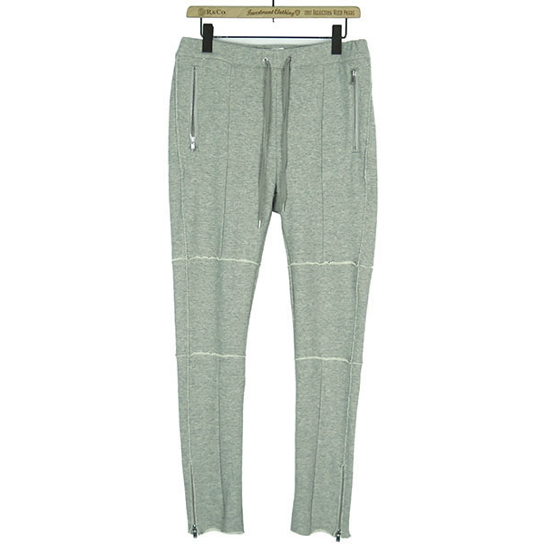 ZIP SWEAT PANTS