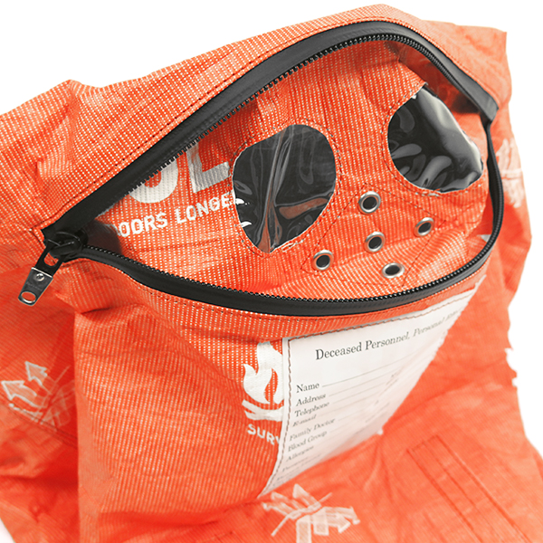mask bag./orange