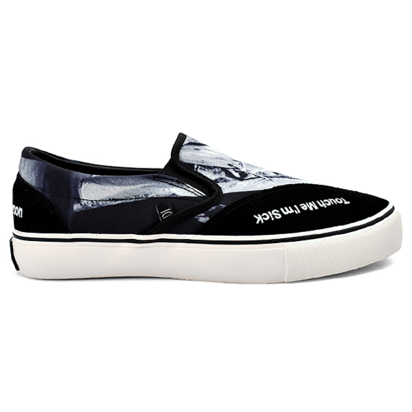 slip on sneakers.-Kurt Cobain-/black