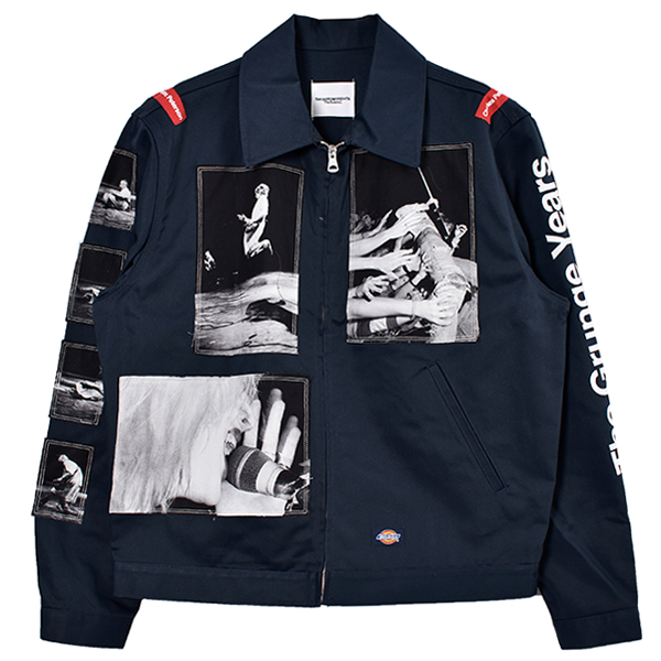 work jacket./navy