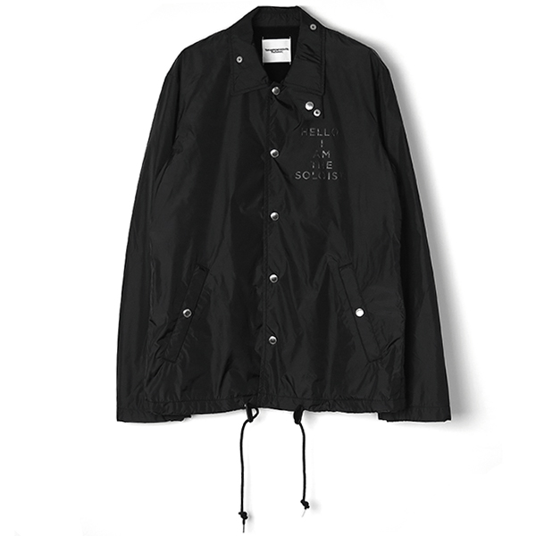 coach jacket./black