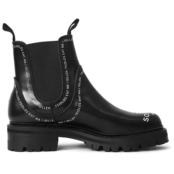 Side Gore Boots 10./black