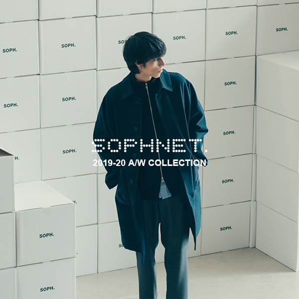 COLOR RIBBED L/S CUTSEWN(SOPH-192091)