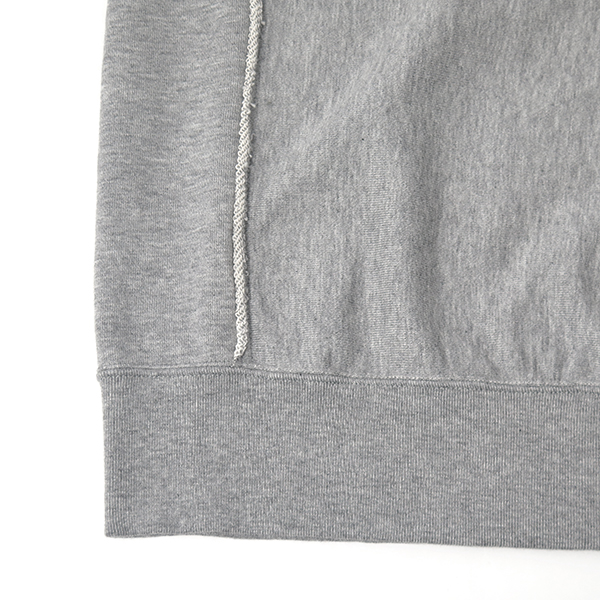 crew neck freedom l/s sweatshirt./gray
