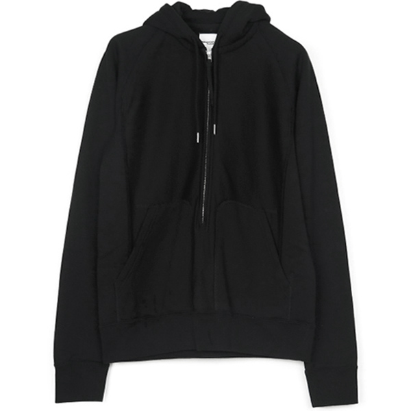 long zip freedom l/s hoodie/black