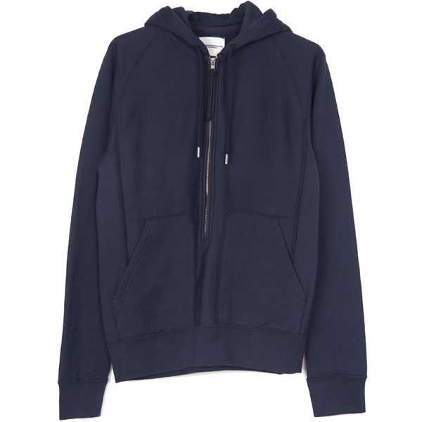 long zip freedom l/s hoodie/navy