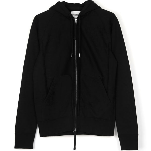 full zip freedom l/s hoodie/black