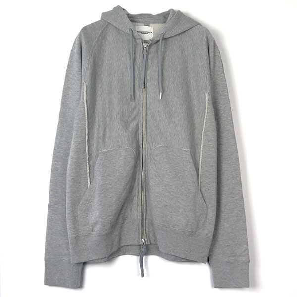full zip freedom l/s hoody./gray