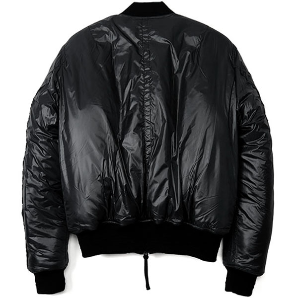 flight jacket./black