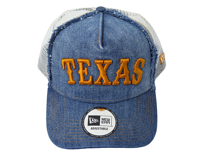 [TMT×NEW ERA]DENIM MESH CAP(TEXAS)(TAC-F1703)